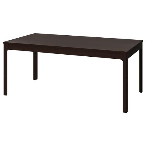 EKEDALEN extendable table dark brown 180 cm 240 cm 90 cm 75 cm
