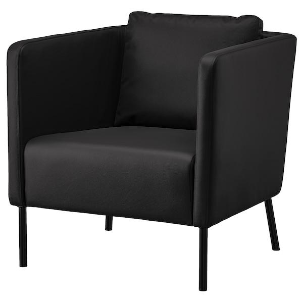 EKERÖ Armchair, Bomstad black
