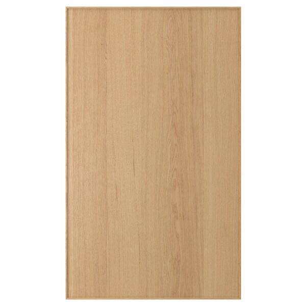 EKESTAD door oak 59.7 cm 100.0 cm 60.0 cm 99.7 cm 1.9 cm