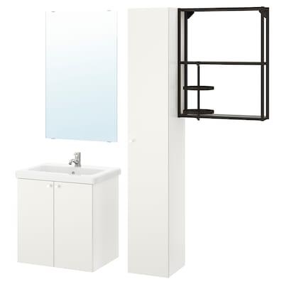 ENHET / TVÄLLEN أثاث حمام، طقم من 13