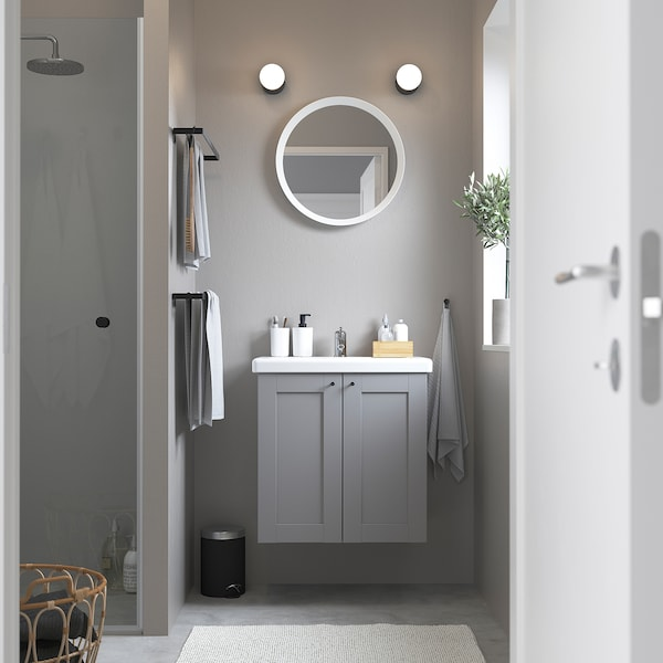 ENHET / TVÄLLEN خزانة الحوض مع بابين