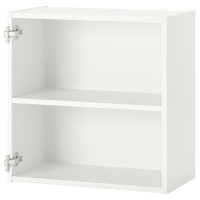 ENHET خزانة حائط مع رف, أبيض, 60x30x60 سم