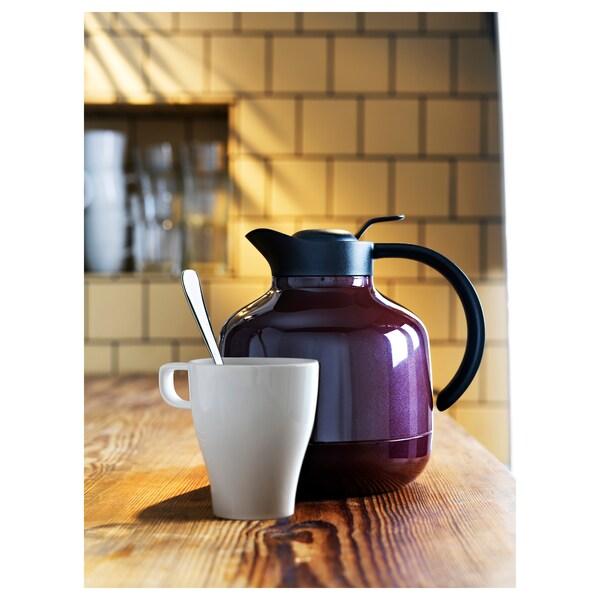 FÄRGRIK Mug, stoneware white, 25 cl