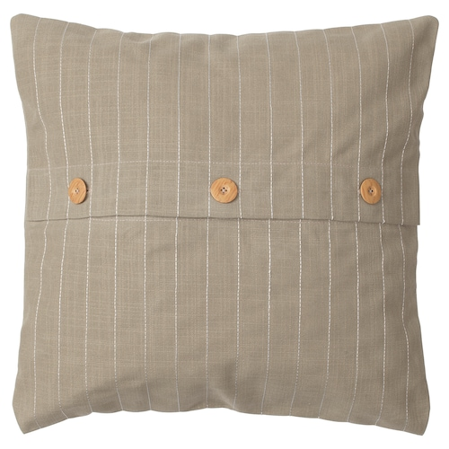 FESTHOLMEN cushion cover in/outdoor/beige 50 cm 50 cm