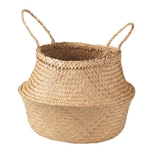 FLÅDIS Basket, seagrass