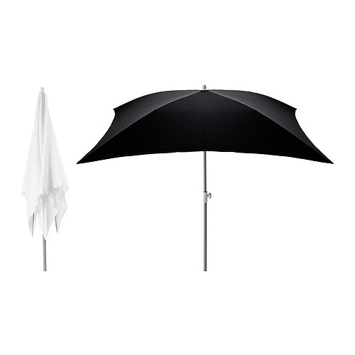 FLISÖ Parasol IKEA Very good UV-protection; the fabric blocks at least 95% of the ultraviolet radiation.
