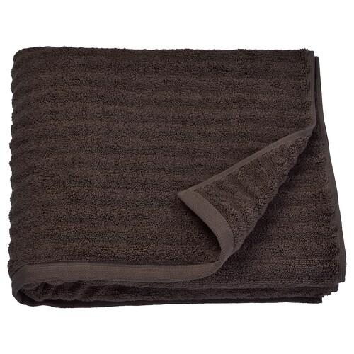 FLODALEN bath towel dark brown 700 g/m² 140 cm 70 cm 0.98 m²