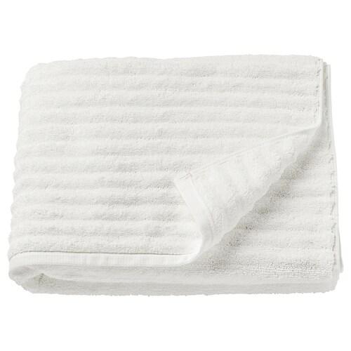 FLODALEN bath towel white 140 cm 70 cm 0.98 m² 700 g/m²