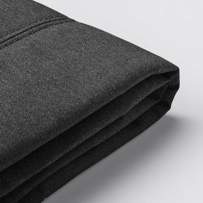 FLOTTEBO غطاء كنبة-سرير, Vissle رمادي غامق, 120 سم