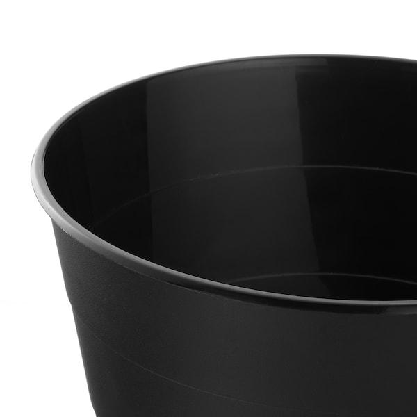 FNISS حاوية نفايات, أسود, 10 ل