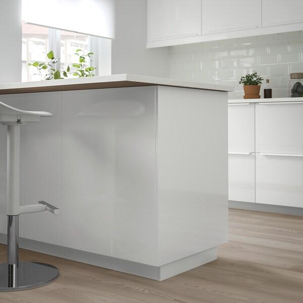 FÖRBÄTTRA لوح غطاء, لامع أبيض, 62x240 سم