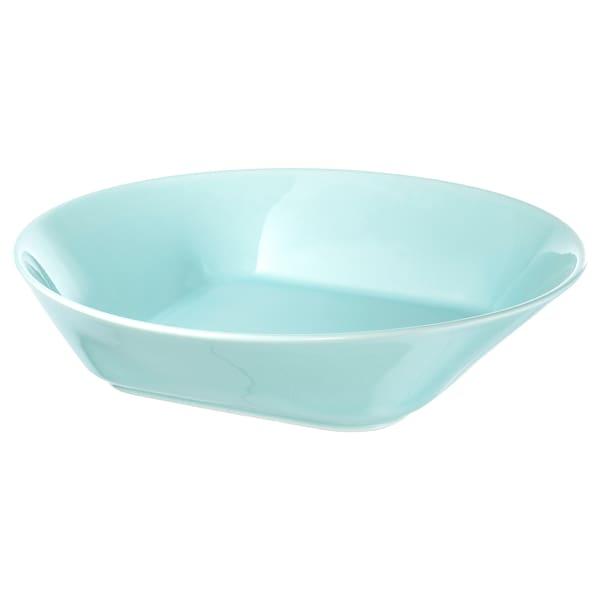FORMIDABEL Deep plate, light blue, 20 cm