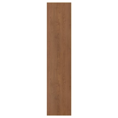 FORSAND Door, brown stained ash effect, 50x229 cm