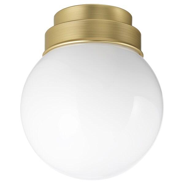 FRIHULT مصباح سقف/حائط, لون نحاسي
