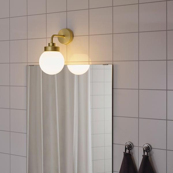 FRIHULT مصباح حائط, لون نحاسي