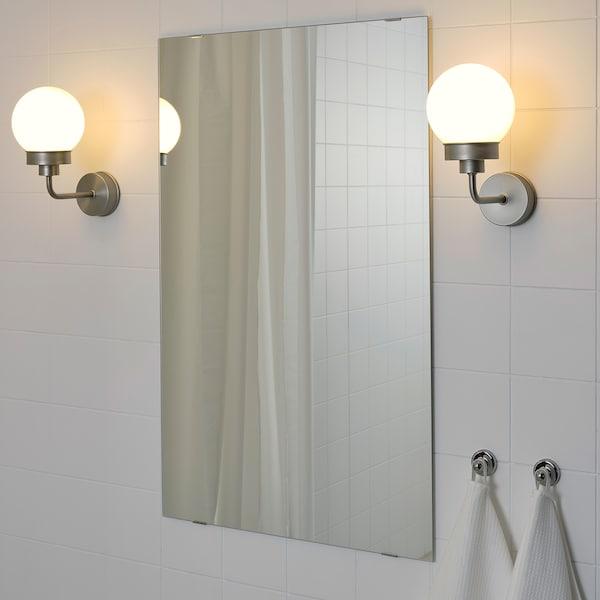 FRIHULT مصباح حائط, لون الستانليس ستيل.