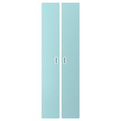 FRITIDS باب, أزرق فاتح, 60x192 سم 2 قطعة