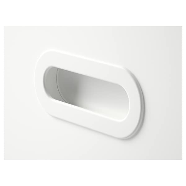 FRITIDS Drawer front, white, 60x32 cm