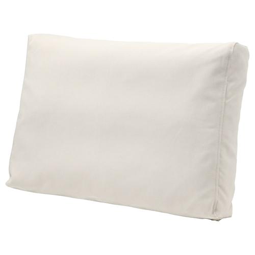 FRÖSÖN/DUVHOLMEN back cushion, outdoor beige 44 cm 62 cm 14 cm