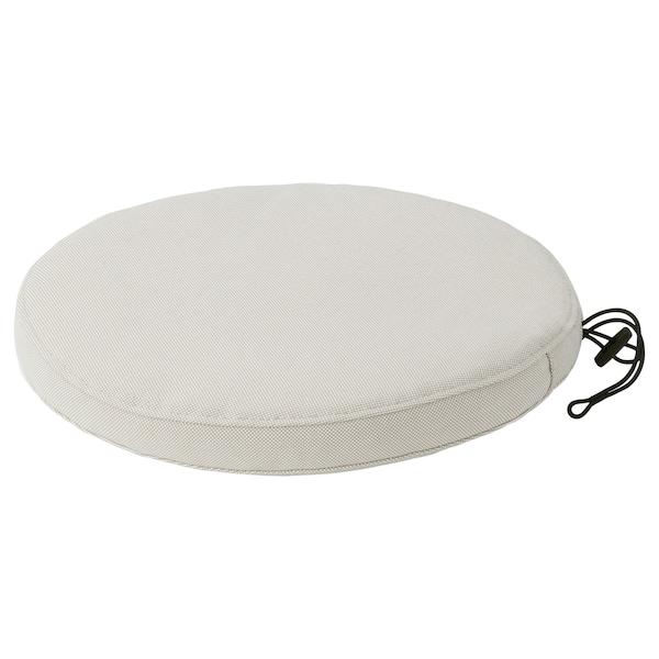 FRÖSÖN/DUVHOLMEN chair cushion, outdoor beige 35 cm 4 cm