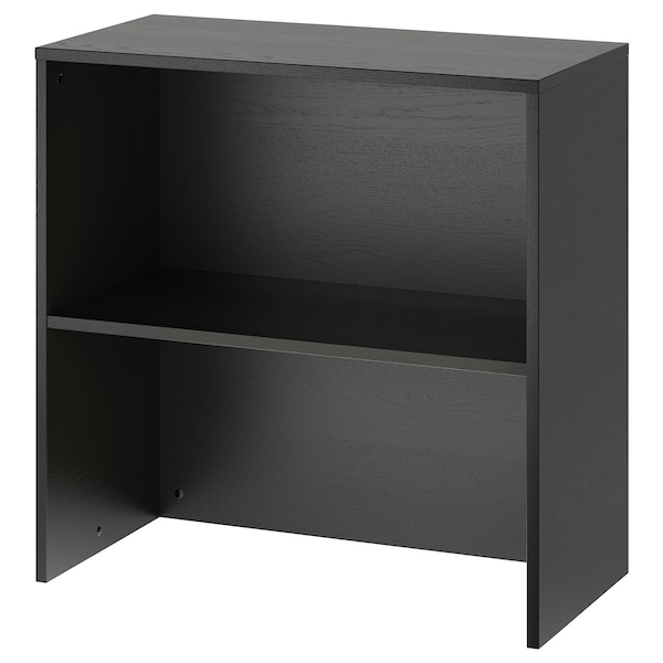GALANT وحدة إضافة, قشرة الدردار لون الأسود, 80x80 سم