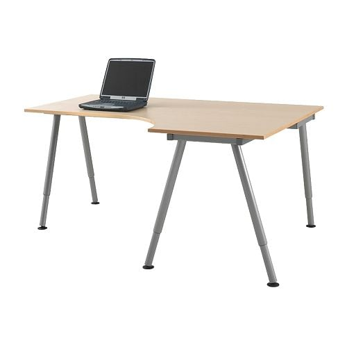 GALANT Corner desk right IKEA 10 year guarantee.   Read about the terms in the guarantee brochure.