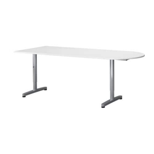 GALANT Desk combination IKEA The legs are height adjustable, 60-82 cm; assemble your work surface at a height that suits you.