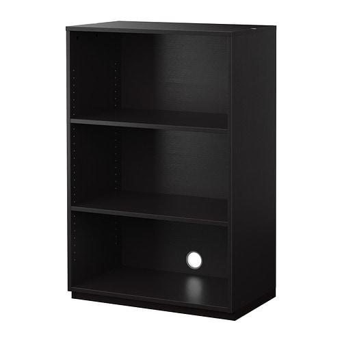 GALANT Shelf unit, black-brown