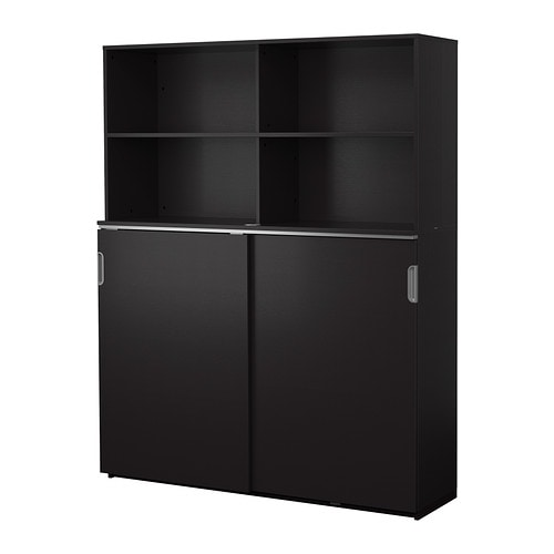 Ikea Gardinen Deckenbefestigung ~ GALANT Storage combination w sliding doors IKEA 10 year guarantee