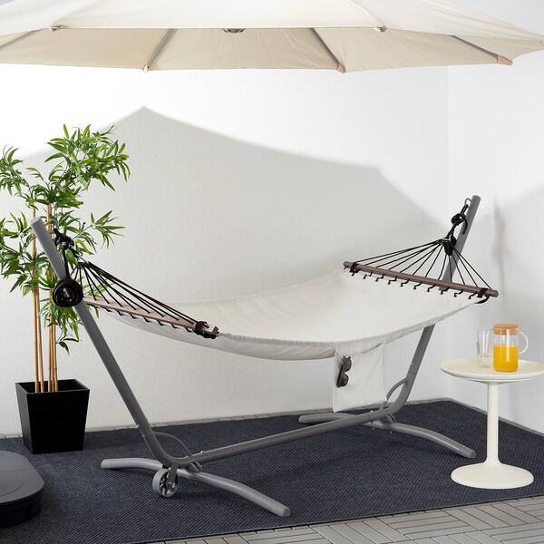 GÅRÖ hammock stand, outdoor grey 301 cm 119 cm 129 cm 120 kg