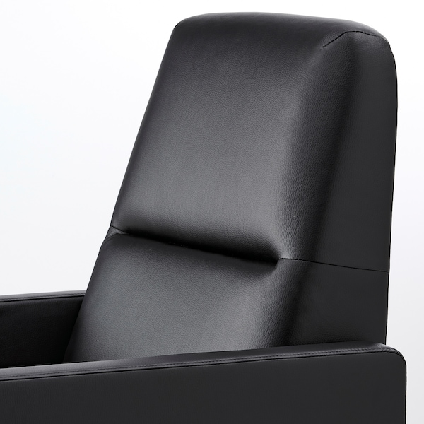 GISTAD كرسي بظهر متحرك, Bomstad أسود