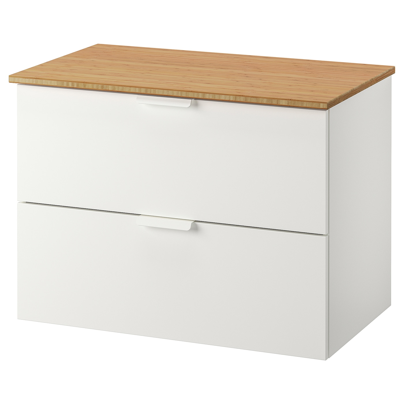 Wash Stand With 2 Drawers Godmorgon Tolken White Bamboo