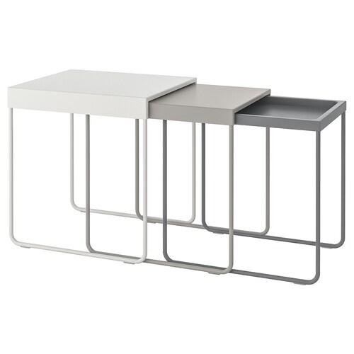 IKEA GRANBODA Nest of tables, set of 3