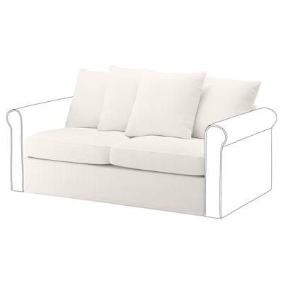 GRÖNLID قسم كنبة-سرير بمقعدين, Inseros أبيض