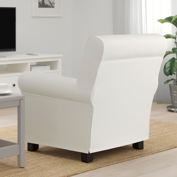 GRÖNLID Armchair, Inseros white