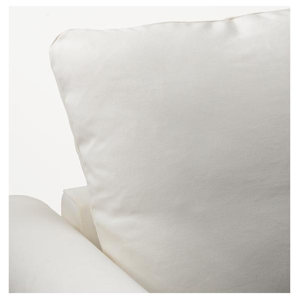 GRÖNLID Chaise longue, Inseros white
