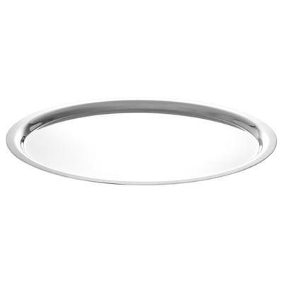 GULKREMLA Lid, stainless steel, 18 cm