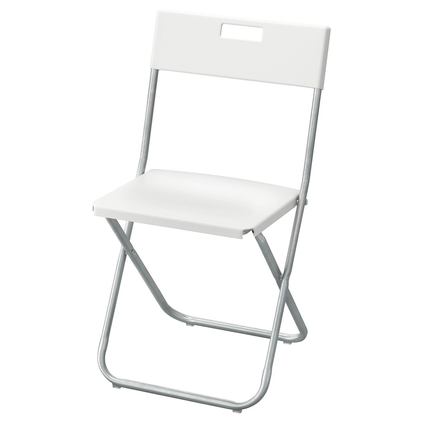 GUNDE Folding chair - white