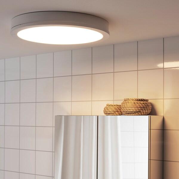 GUNNARP مصباح LED سقف/حائط, أبيض خافتة للضوء/طيف أبيض, 40 سم