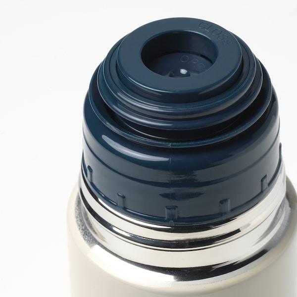 HÄLSA Steel vacuum flask, beige, 0.5 l