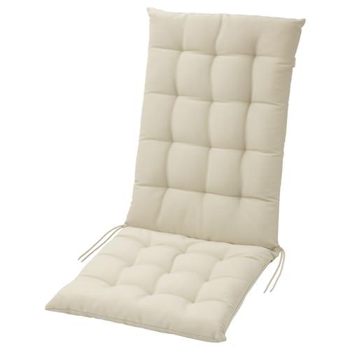 HÅLLÖ seat/back cushion, outdoor beige 116 cm 47 cm 68 cm 48 cm 6 cm