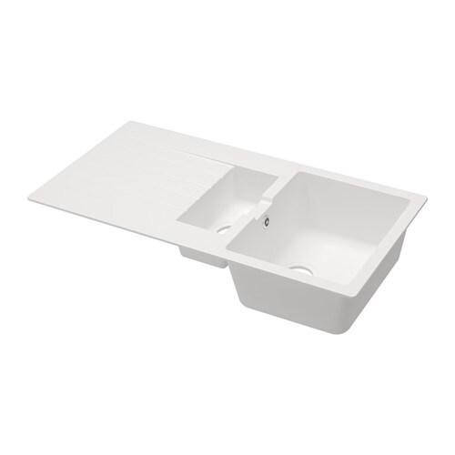 HÄLLVIKEN 1 1/2 Bowl Insert Sink With Drainer