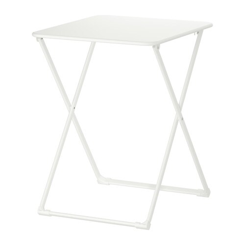 HÄRÖ Table, outdoor IKEA Easy to fold up and put away.  The materials in this outdoor furniture require no maintenance.