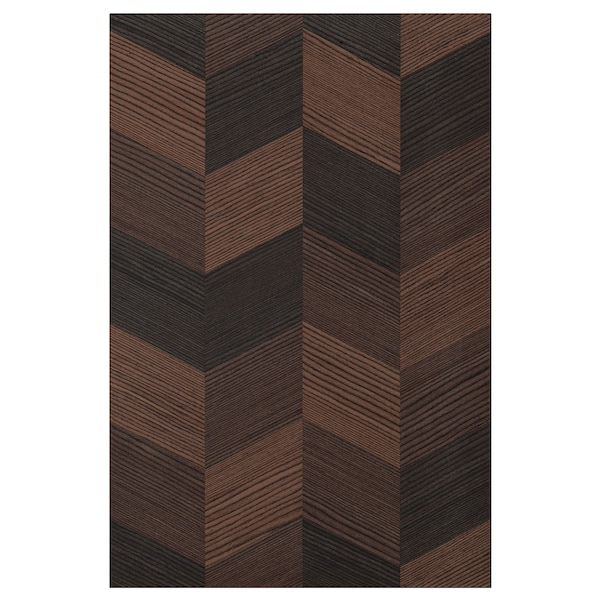 HASSLARP باب, بني منقوش, 40x60 سم