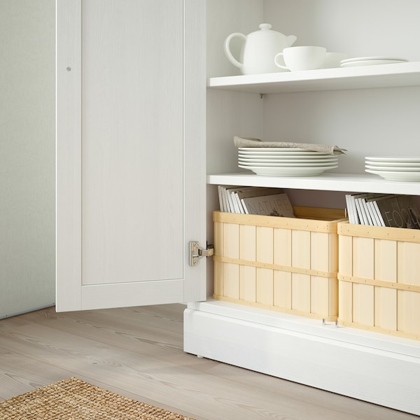 Havsta Cabinet With Plinth White Ikea