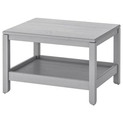 HAVSTA Coffee table, grey, 75x60 cm