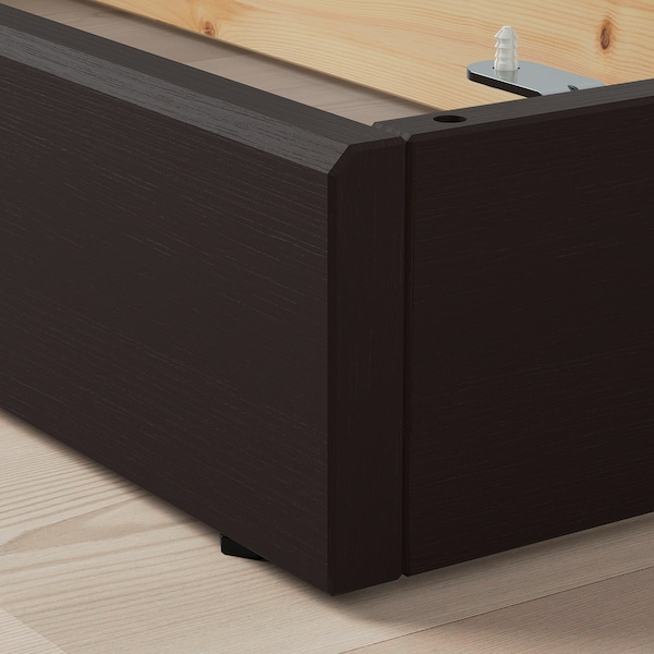 HAVSTA plinth dark brown 81 cm 37 cm 12 cm 35 cm