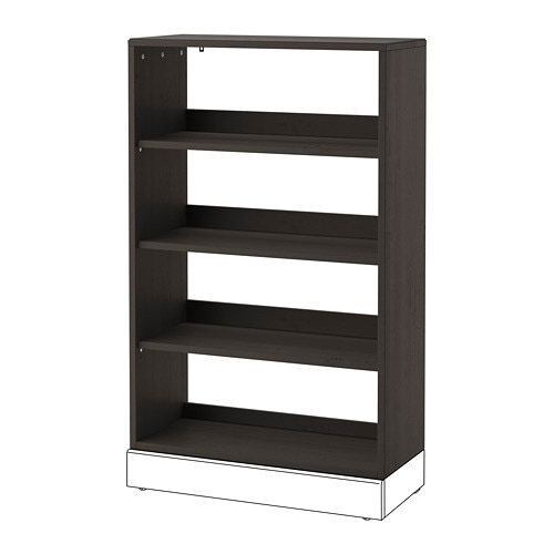 Havsta Shelving Unit Dark Brown Ikea
