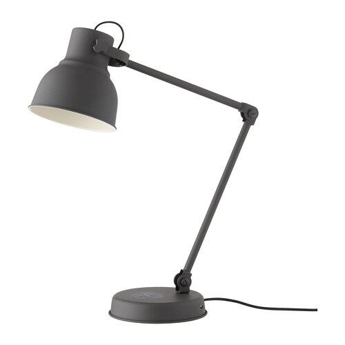 Hektar Work Lamp With Wireless Charging Ikea