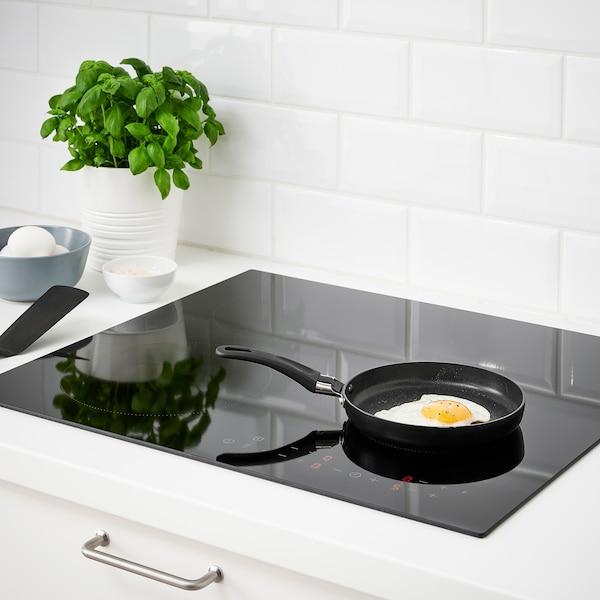 HEMLAGAD Frying pan, black, 17 cm